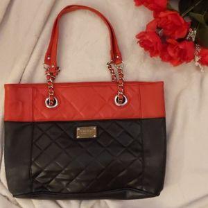 Black and red nine West bag